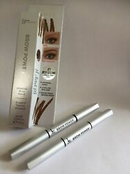 2 It Cosmetics Brow Power Brow Pencil-Universal Taupe .0018 oz 2 pack box no NEW