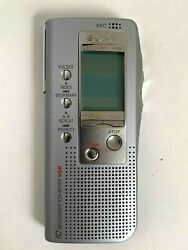 Sony IC Recorder ICD-BP100 (2.5 Hours) Handheld Digital Voice Recorder V.O.R