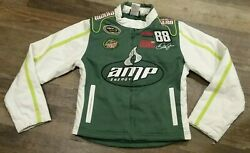 Dale Earnhardt #88 Amp Energy National Guard NASCAR Jacket size Medium 10-12