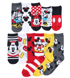 Mickey Mouse 12 Days of Socks Womens Disney 90th Anniversary New Collectible Box $31.99