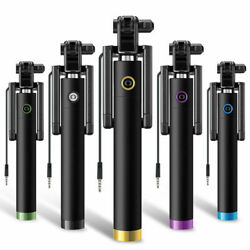 Mini Selfie Stick Monopod Wired Foldable Mobile Phone Holder For iOS amp; android GBP 4.49