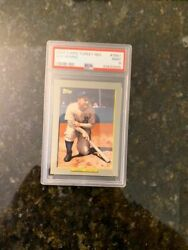 2009 Topps TURKEY RED #TR61 LOU GEHRIG..........PSA 9 MINT! $29.23