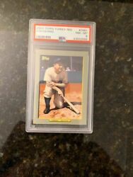 2009 Topps TURKEY RED #TR61 LOU GEHRIG.......PSA 8 NM-MT! $14.96