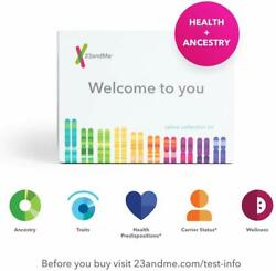 23andMe DNA Test - Health + Ancestry Personal Genetic Service - 125+ reports