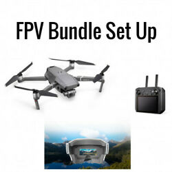 DJI Mavic 2 Pro With Smart Controller And FPV Yuneec SkyView Goggles Bundle $2299.00