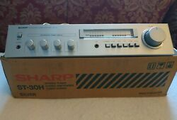 Sharp 1980 Sm-30h Vintage Amplifier Stereo Silver 80's