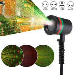 Christmas LED Laser Projector Star Moving Light In Outdoor Landscape Stage Lamp