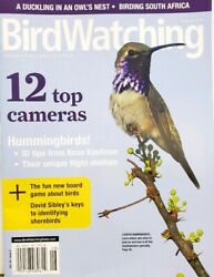 Bird Watching Aug 2019 Top Cameras Hummingbirds FREE SHIPPING CB $11.97