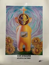 2010 Ron English Status Factory Signed For Opera Gallery Internal Alien Poster