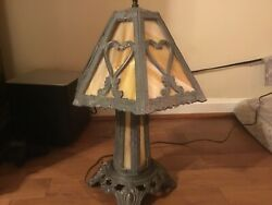 Antique Slag Lamp $250.00