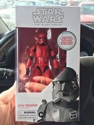 Star Wars Black Series 92 Sith Trooper First Edition