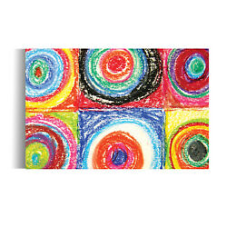 Home Wall Art DecorAbstract Wall ArtCanvas Repro quot;Colorsquot; by Wassily Kandinsky $59.00