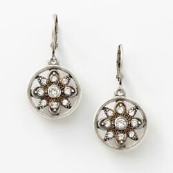 Touchstone Crystal by Swarovski Angelique Earrings New