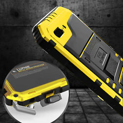 for iPhone Xs Max Xr 8 7 LUPHIE Waterproof Shockproof Aluminum Metal Case Cover $21.93
