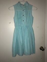 Beautiful Dress Formal For Girls Size 10 Color Blue $7.99