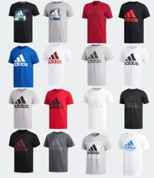 Adidas Badge of Sport Tee Mens Small to 2XL Authentic Short Sleeve T Shirts $24.99
