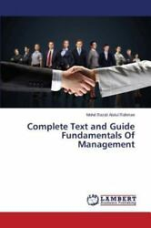 Complete Text and Guide Fundamentals of Management by Abdul Rahman Mohd... $91.83