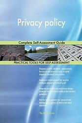 Privacy Policy: Complete Self-Assessment Guide