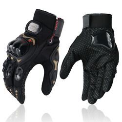 Motorcycle Gloves Full Finger Outdoor Sport Riding Motorbike Gloves $9.99
