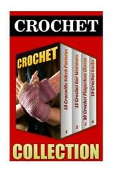 Crochet: 10 Crocodile Stitch Patterns 15 Crochet Ear Warmers 10 Crochet... $14.97