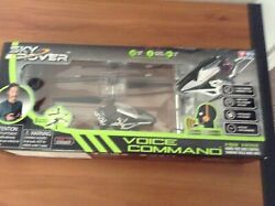 BRAND NEW Sky Rover Voice Command Heli Vehicle Helicopter Remote Control $39.00
