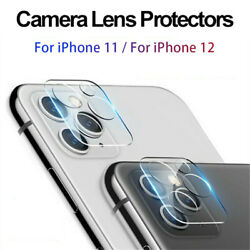 For iPhone 12 11 Pro Max FULL COVER Tempered Glass Camera Lens Screen Protector $3.98