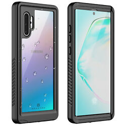 For Samsung Galaxy Note 10+ Plus Waterproof Case Cover Fre with Screen Protector $15.98