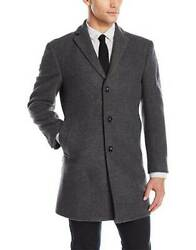 Calvin Klein Men's Prosper Slim Fit Single Breasted  COAT Size 38 Short  $395