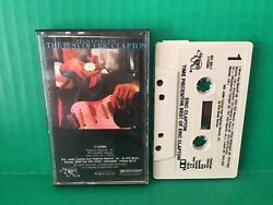 ERIC CLAPTON Time Peices Greatest Hits 1982 Rock Cassette Tape Rare OOP $7.95
