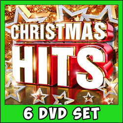 Best of Christmas Music Videos * 6 DVD Set * 161 Classics ! Pop Rock Hits