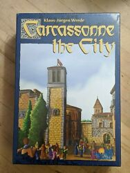 Rare Carcassonne The City Out Of Print New Sealed