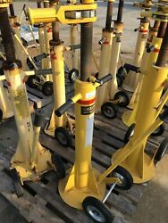 GLOBAL INDUSTRIES 100000 LBS 2 WHEELED RATCHETING TRAILER STABILIZING JACK qty1 $600.00
