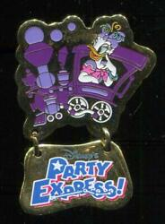 TDL Party Express Daisy Duck Disney Pin 4011 $9.95