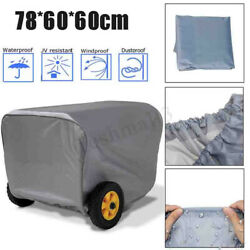 For Small Outdoor Generator Portable Weather Resistant Dustproof Storage Cover $14.37