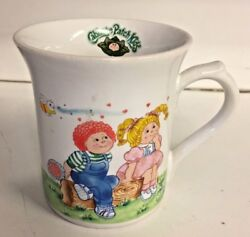 Vintage 1984 Cabbage Patch Kids Ceramic Coffee Mug OAA Inc Novelty Extra Special $9.99