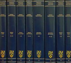 Latin English Opera Omnia: Summa Theologiae : Complete Set by Thomas Aquinas... $307.16