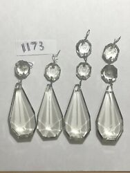 crystal chandelier prisms 4 Pcs 3 In Pendant $25.00