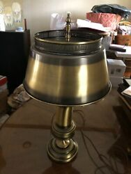 desk lamp matted brass finish $50 good condition