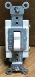 New Leviton Switch 15A 120 277V AC CA White No. CS115.