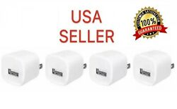4x White USB Power Adapter AC Home Wall Charger US Plug FOR iPhone Apple Watch $6.39