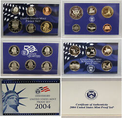 2004 Proof Set CN-Clad (OGP) 11 coins