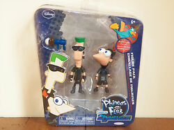 Phineas amp; Ferb Figure Pack Set Resistance Force Across The 2nd Dimension **NEW** $49.99