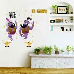 Aladdin Magic Lamp Cartoon Wall Stickers Decoration Picture For Living Room $9.80