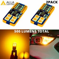 LED Yellow Front Outer Side Marker Light Bulb Corner For 2010 2012 Nissan Altima $9.98