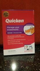 Quicken Premier Finance Software 1 Year Subscription For PC and Mac 2021 NEW $49.50