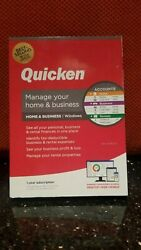 QUICKEN MANAGE YOUR HOME & BUSINESS 2020 FOR Windows CD  1 YR SUBSCRIPTION NEW $64.90