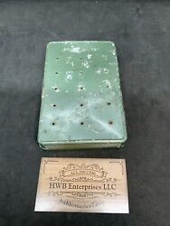 vintage fly box with flies $25.00