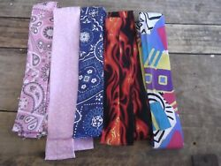 Cooling Scarf Cold Water Crystal Wrap Neck Cooler Lot of 10  $10.00