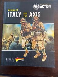 Armies Of Italy And The Axis supplement book for Bolt Action $17.99