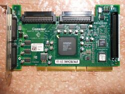 DELL ADAPTEC ASC 39160 DUAL CHANNEL ULTRA160 SCSI PCI or PCI X 0360MG 360MG $15.29